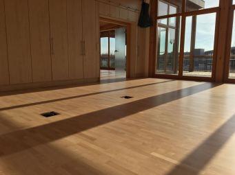 Der Boden ist fertig :)